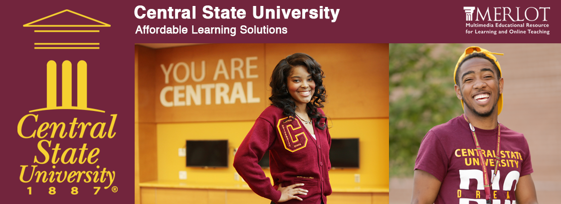 Central State logo and images of students.